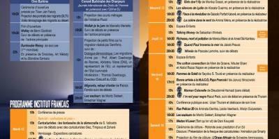 Programme du festival Ciné Droit Libre(CDL) du mardi 12 décembre 2017
