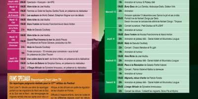 CDL 2017 : Programme complet  du mercredi 13 décembre