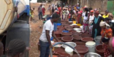 Pénurie d'eau à Bouaké : appel à l'aide d'une population assoiffée !