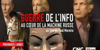Le film « Guerre de l'info : au cœur de la machine russe » est programmé au CDL 2018