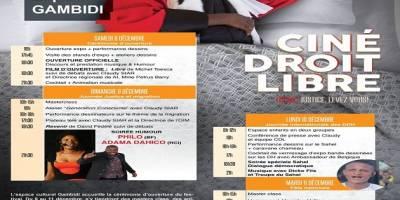 CDL 2018 : Le programme complet de l'Espace Culturel Gambidi