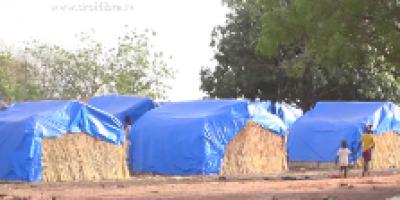 Mali : Difficiles conditions de vie dans les camps de réfugiés à Bamako
