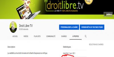 Plus de 25 millions de vues sur YouTube pour Droit Libre TV !