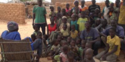 Barsalogho : Lui seul accueille plus de 400 déplacés dans sa famille