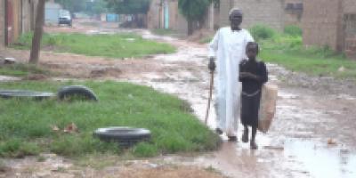 Le vieux Harouna : Aveugle et mendiant depuis plus de 40 ans