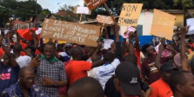 Guinée : La jeunesse dit non à un 3e mandat de Alpha Condé