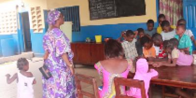 Marie Dénise BANGOURA, la mère des orphelins en Guinée