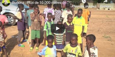 Burkina : Plus de 10.000 élèves déscolarisés de l'insécurité dans le Bam