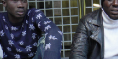 Tiémoko et Kalilou, sans abris ivoiriens à Paris