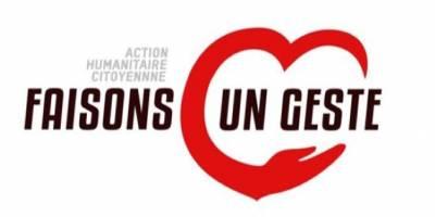 « Faisons un geste » : La clôture de l'action humanitaire prévue pour le 31 octobre