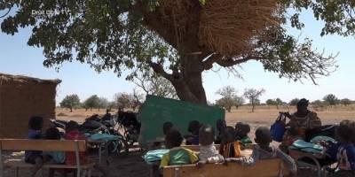 Ecoles sous paillotes : La face hideuse le l'école burkinabè
