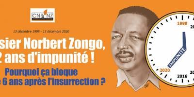 Dossier Norbert ZONGO : 22 ans d'impunité !