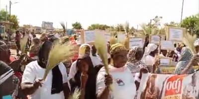 Marche des femmes à Dori : « Nous femmes sommes fatiguées d'enterrer nos époux et nos enfants ! »