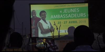 Région de l'Est: Présentation du projet Jeunes Ambassadeurs